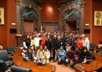Alumnos y alumnas del IES Alfonso Escámez de Águilas
