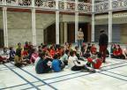 Alumnos y alumnas del colegio Nuestra Señora de la Asunción de Jumilla