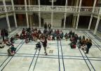 Alumnos y alumnas del CEIP Santa María de Gracia de Murcia