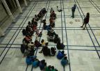 Alumnos y alumnas del CEIP Juan de la Gloria de Bullas
