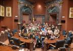 Alumnos y alumnas del CEIP Nuestra Señora de la Arrixaca de Murcia