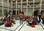Alumnos y alumnas del CEIP Cervantes de Caravaca