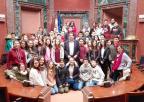 Alumnos y alumnas del IES Sierra Minera, de La Unión
