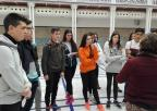 Alumnos y alumnas del IES Sabina Mora, de Torre Pacheco