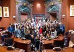 Alumnos del Colegio Narval, de Cartagena