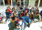 Alumnos del CEIP Vicente Ros, de Cartagena