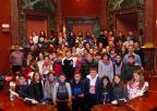 Alumnos y alumna del C.E.I.P. Cervantes, de Caravaca de la Cruz
