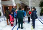 Alumnos y alumnas del CEIP Félix Rodríguez de la Fuente, de Los Nietos