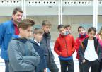 Alumnos y alumnas del CEIP Miguel Ortuño Palao, de Yecla