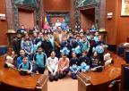 Alumnos y alumnas del CEIP Virgen del Carmen, de Cartagena