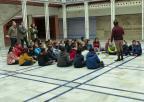 Alumnos y alumnas del Colegio de Educación Infantil y Primaria Carmen Conde, de Jumilla