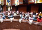 Alumnos y alumnas del colegio Miguel Ortuño Palao de Yecla