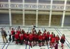 Alumnos y alumnas del colegio Mirasierra de Torreagüera