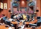 Alumnos y alumnas del IES Pueblos de la Villa de Fuente Álamo