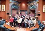 Alumnos y alumnas del CC Jesús María de Murcia,