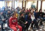 Alumnos y alumnas del CEIP José Marín de Cieza