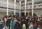 Alumnos y alumnas del colegio Ginés Díaz-San Cristóbal de Alhama de Murcia