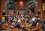 Alumnos y alumnas del CEIP Las Esperanzas de San Pedro del Pinatar