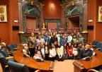 Alumnos y alumnas del CEIP Nuestra Señora del Carmen de Lo Pagán