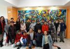 Alumnos y alumnas del colegio Beethoven de Cartagena