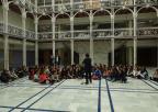 Alumnos y alumnas del CEIP Méndez Núñez de Yecla