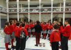 Alumnos y alumnas del Colegio AYS de Murcia