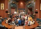 Alumnos y alumnas del CEIP Santo Angel de Murcia