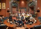 Alumnos y alumnas del CEIP Las Tejeras de Alcantarillas