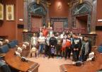 Alumnos y alumnas del CEIP El Mirador de San Javier
