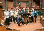Alumnos y alumnas de la Universidad de Mayores y de la Escuela Superior Internacional de Diseño de Murcia