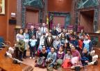 Alumnos y alumnas del colegio Luis Vives de El Albujón