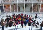 Alumnos y alumnas del colegio Ricardo Codorniú de Alhama de Murcia