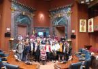 Alumnos y alumnas del IES María Cegarra Salcedo de La Unión