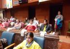 Alumnos y alumnas del Colegio Nueva Escuela de Fuente Álamo