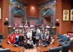 Alumnos y alumnas del CEIP Pedro Cano de El Palmar