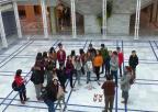 Alumnos y alumnas del IES Juan Sebastián Elcano de Cartagena