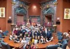 Alumnos y alumnas del CEIP Hernández Ardieta de Roldán