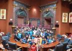 Alumnos y alumnas del CEIP Pérez de Hita de Lorca