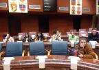 Alumnos y alumnos del Colegio Adoratrices de Cartagena