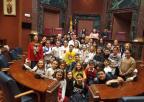Alumnos y alumnas del CEIP José Moreno de Murcia