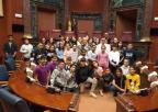 Alumnos y alumnas del CEIP Ángel Zapata de Torreagüera